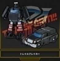 Transformers EZ Collection Trailbreaker