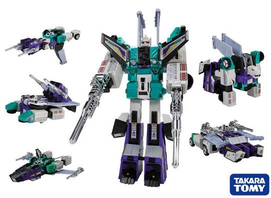 Transformers Asia Exclusive G1 Sixshot Reissue