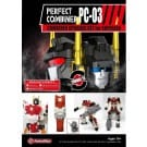 Perfect Combiner PC-03 Upgrade Set - Superion Set