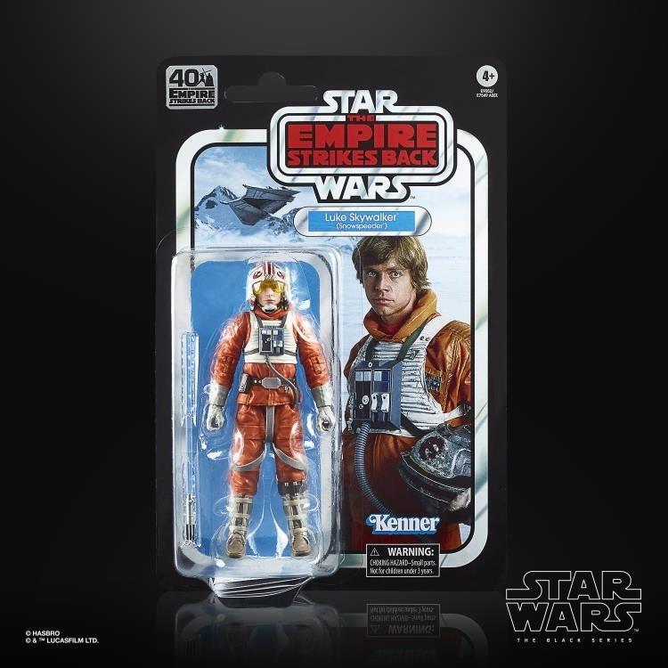 Star Wars LUKE SKYWALKER Snowspeeder Black Series 40th Anniversary Figure