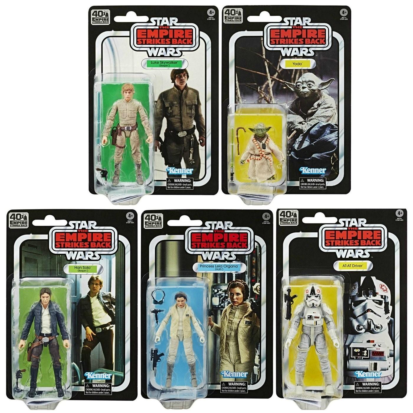 Star Wars Black Series 40th Anniversary Wave 1 Yoda The Empire Strikes Back