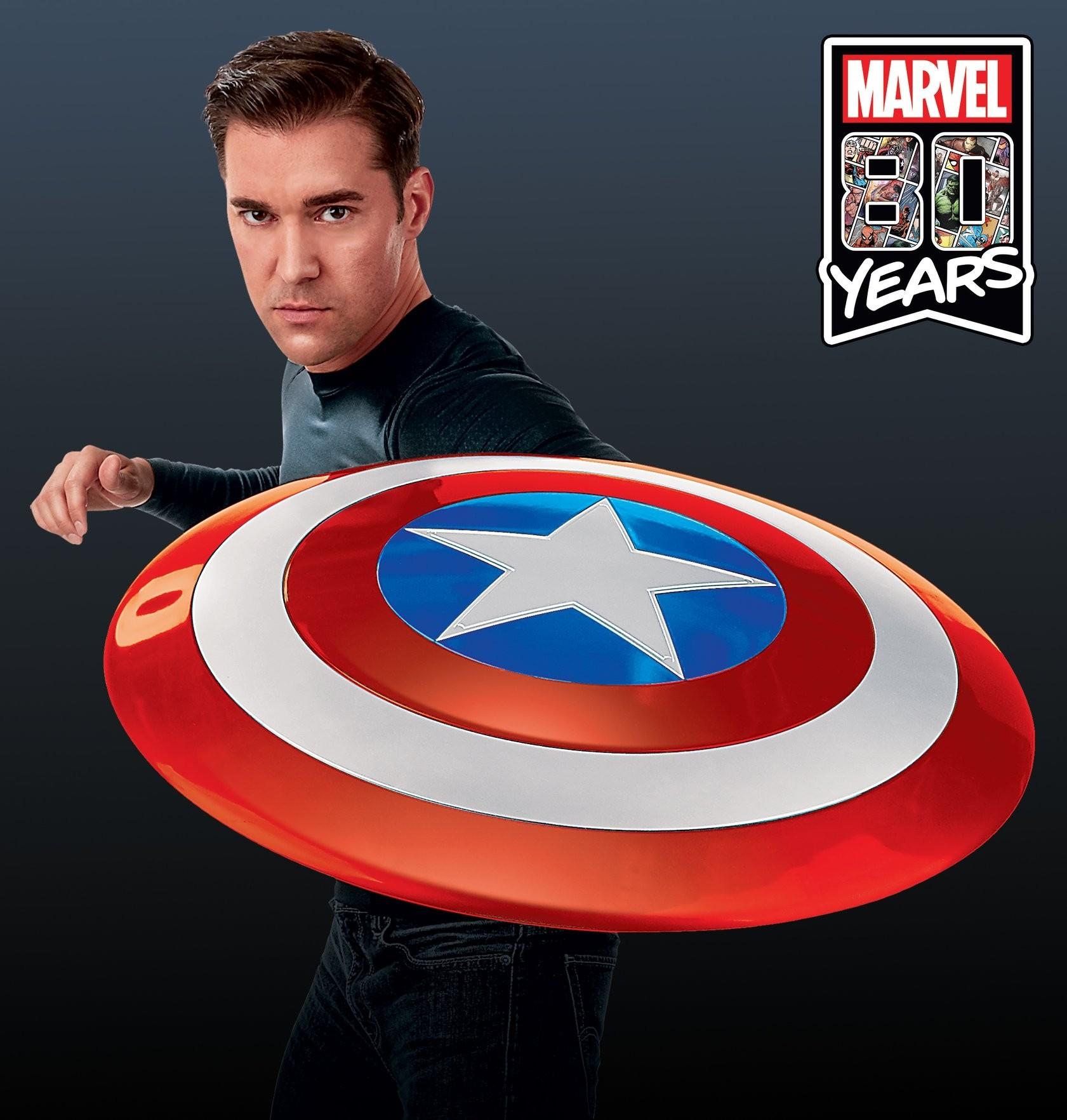 Marvel Legends Captain America 2020 Scale Comic Shield Replica