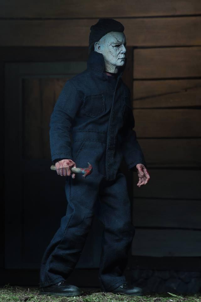 "Halloween 2018 Michael Myers 8/"" Clothed Figure NECA"