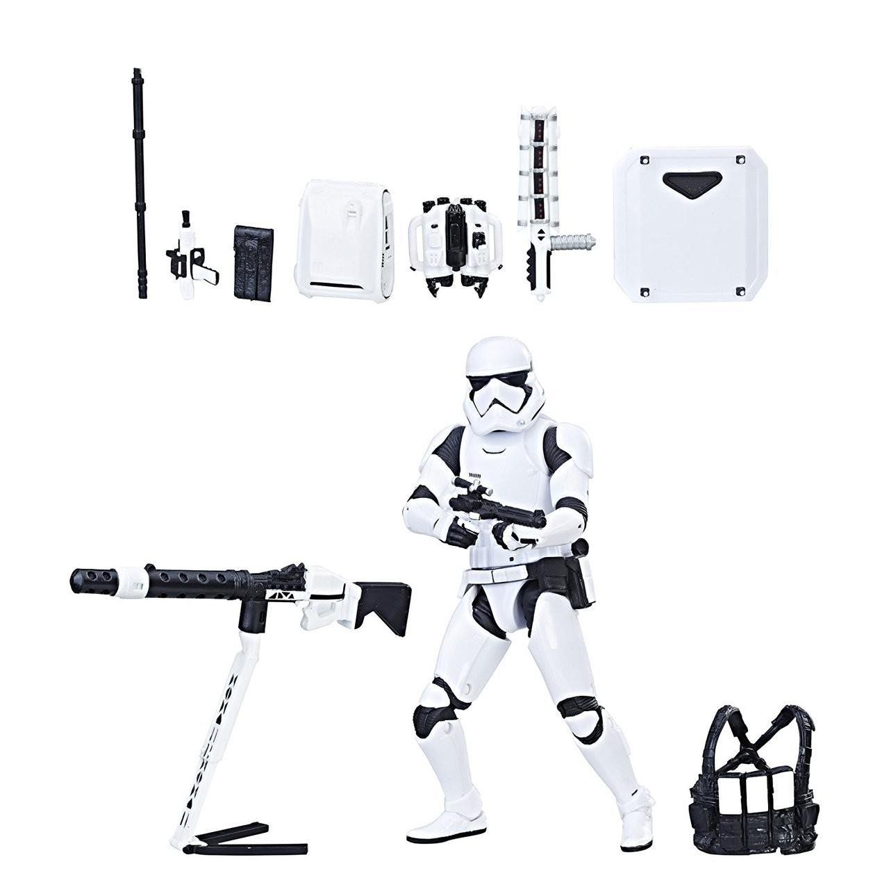 Star Wars Black Series First Order Stormtrooper With Heavy