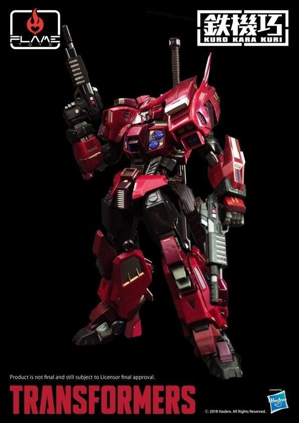 Flame Toys Shattered Glass Drift Premium Transformers Figure Kapow