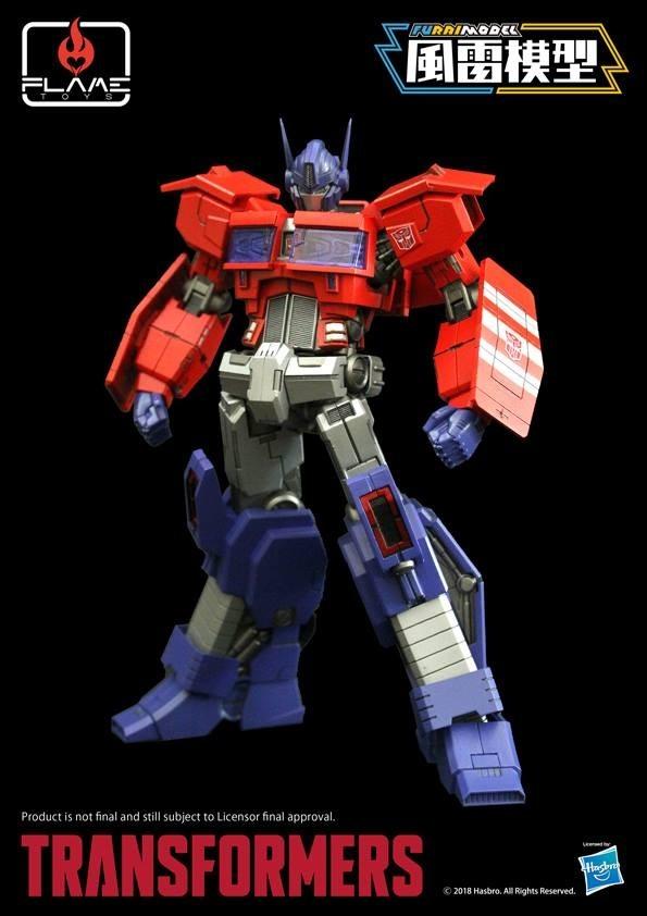 Flame Toys Furai Model Idw Optimus Prime Model Kit Kapow Toys