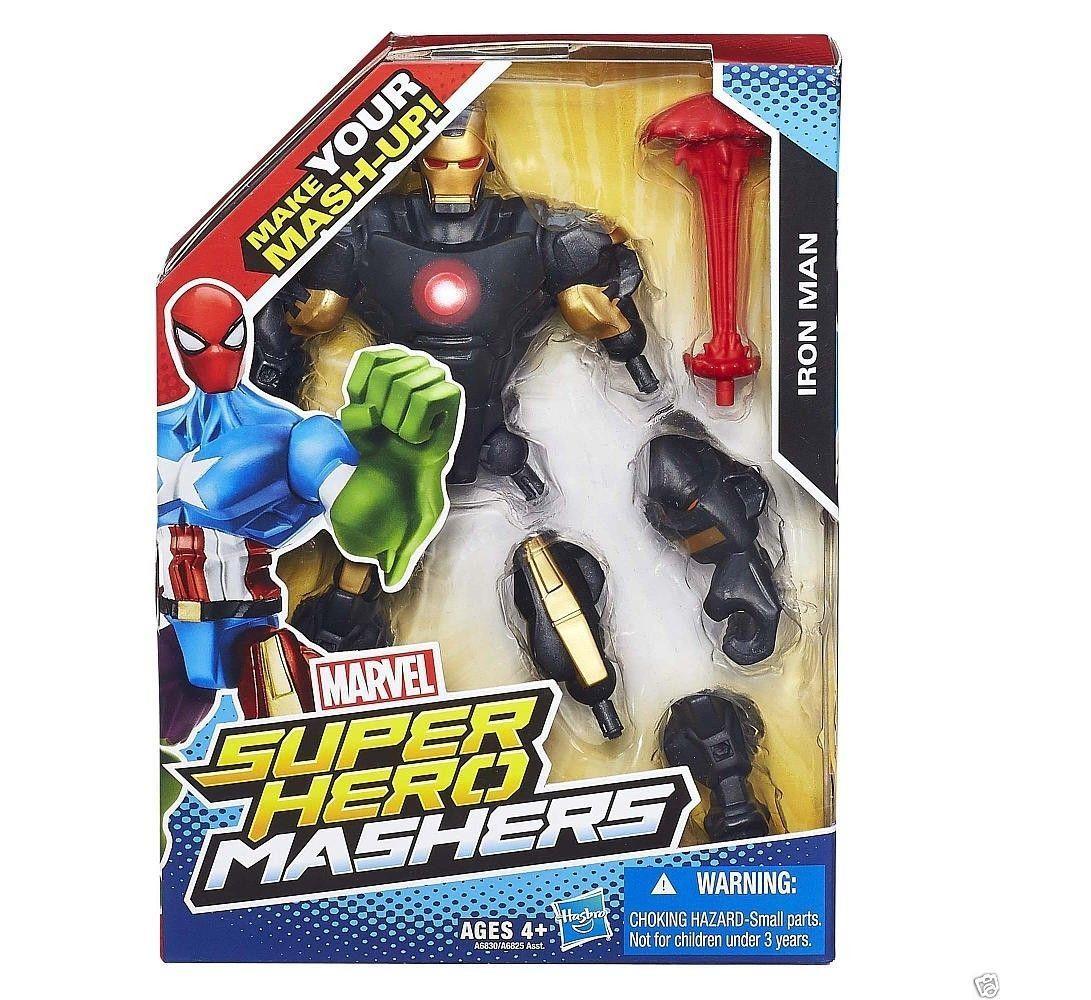 Marvel Super Hero Mashers Iron Man - Kapow Toys 75e4b1e5c7
