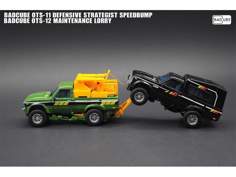 Badcube OTS-11 Speed Bump & OTS-12 Lorry Deal