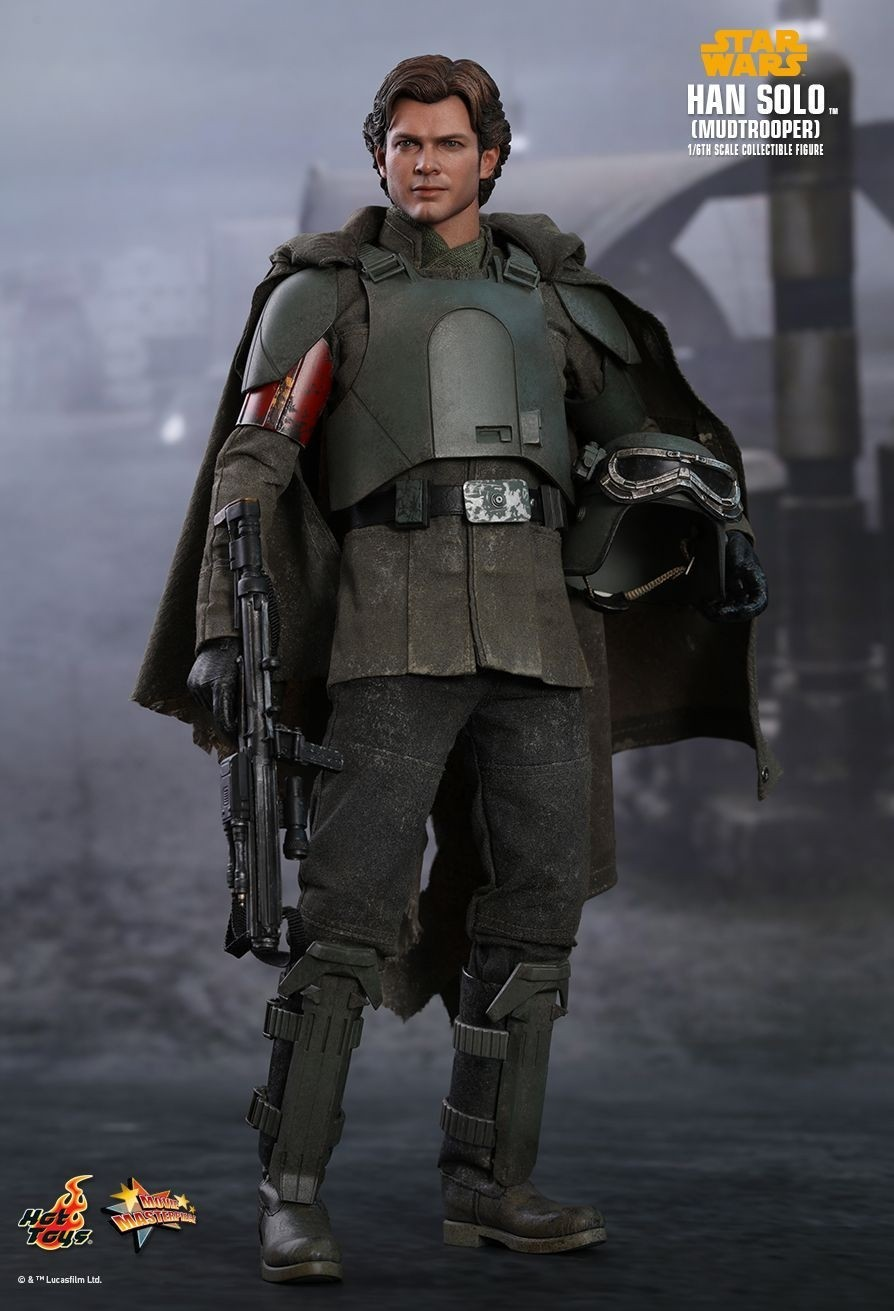 Solo: Hot Toys Han Solo Mudtrooper Star Wars A Solo Story 1/6th
