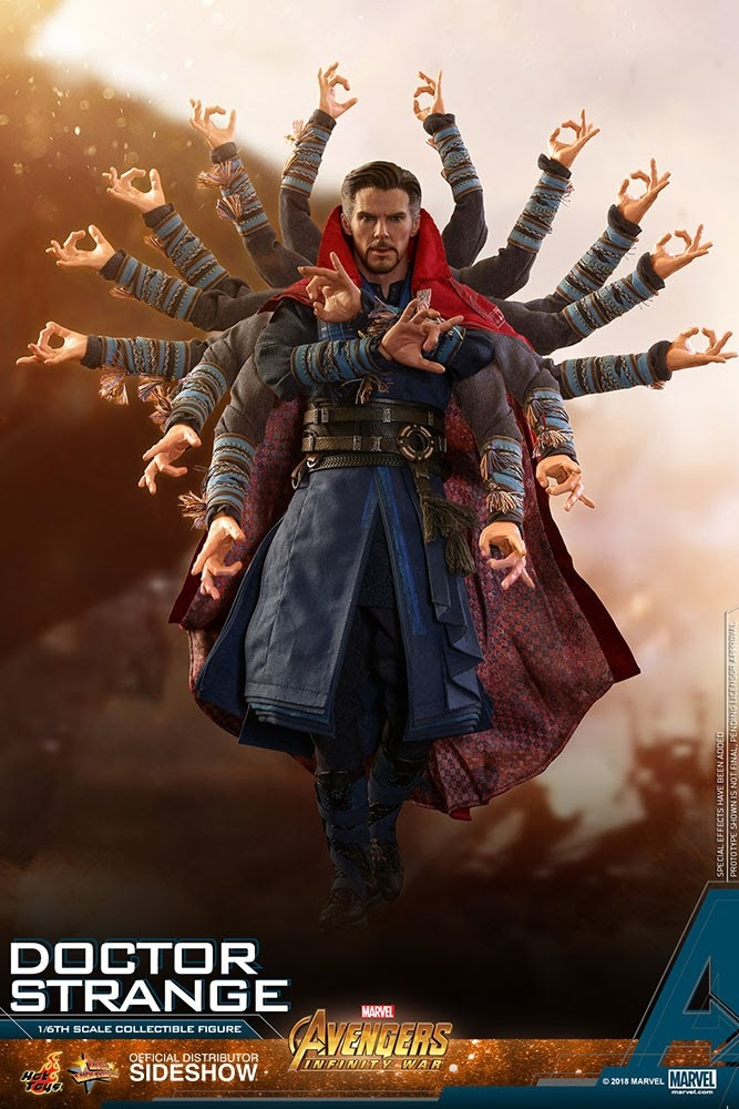 Hot Toys Avengers Infinity War Doctor Strange 1 6th Scale