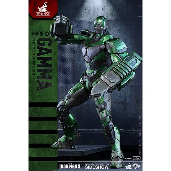 Hot Toys Iron Man 3 IRON MAN MARK XXVI GAMMA 1/6 Scale Action Figure