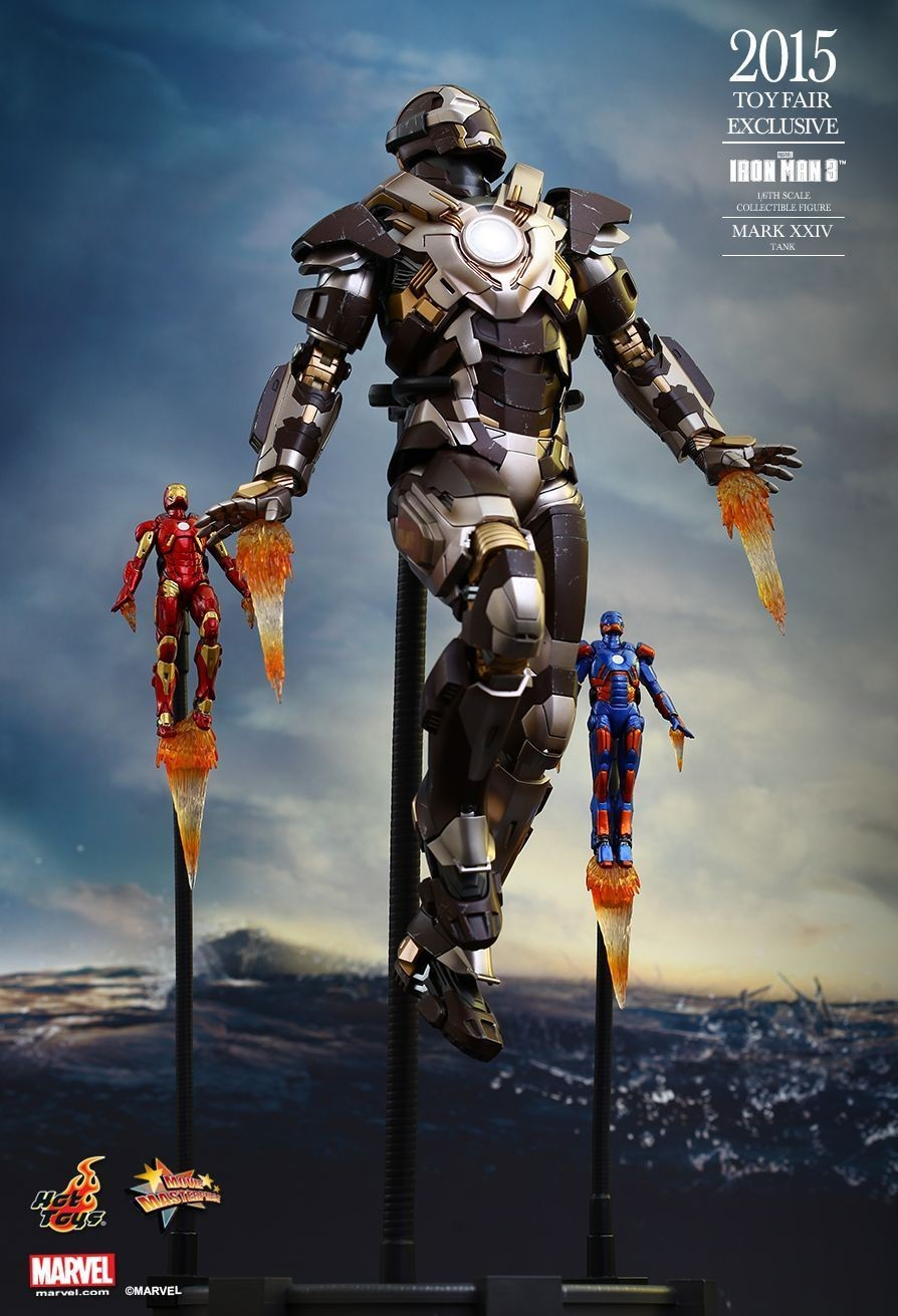 Hot Toys Iron Man 3 Tank 1/6th Scale Figure Toy Fair Exclusive
