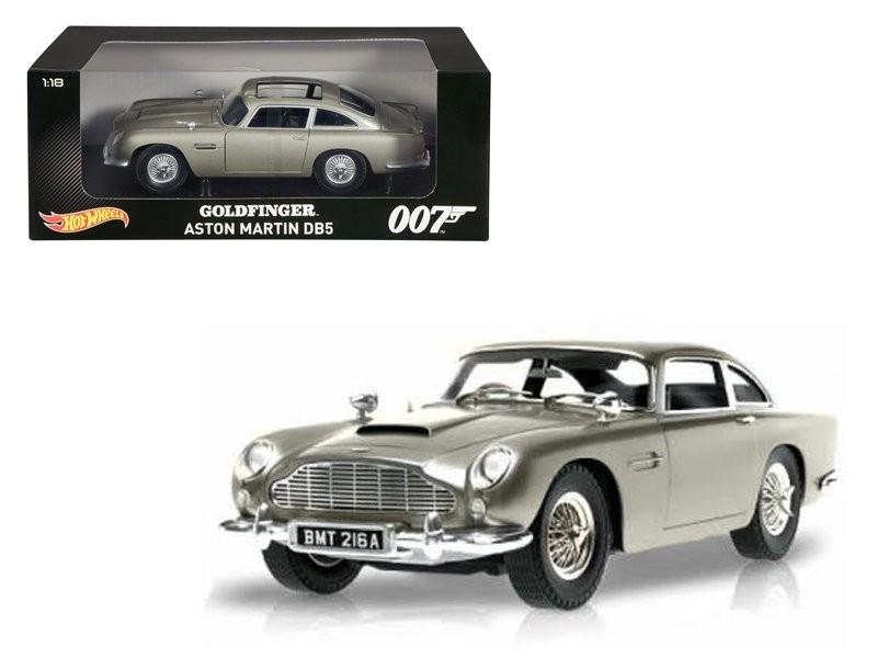 Hot Wheels James Bond Goldfinger Aston Martin Db5 1 18 Scale Model Kapow Toys