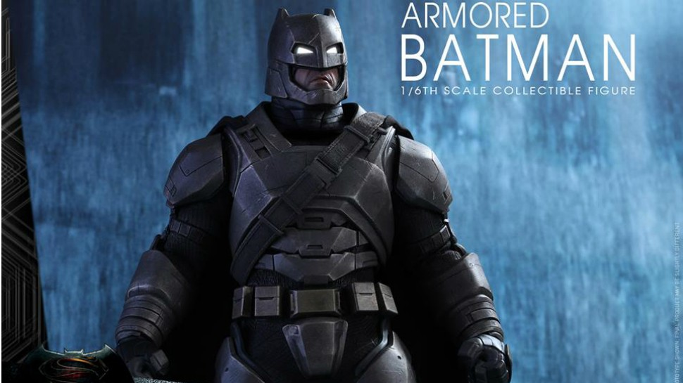 Hot Toys Dawn of Justice Armoured Batman - Kapow Toys