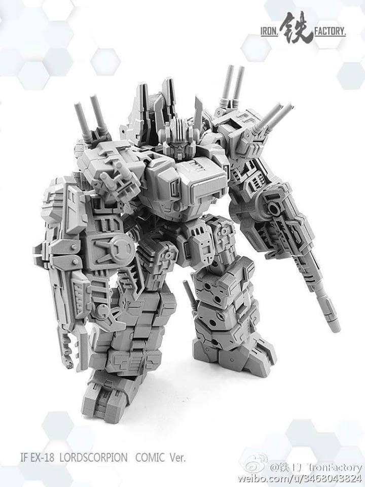 Iron Factory If Ex18 Lord Scorpion Kapow Toys