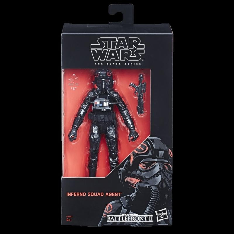 """HASBRO STAR WARS BLACK SERIES 6/"""" inch INFERNO SQUAD AGENT ACTION FIGURE"""
