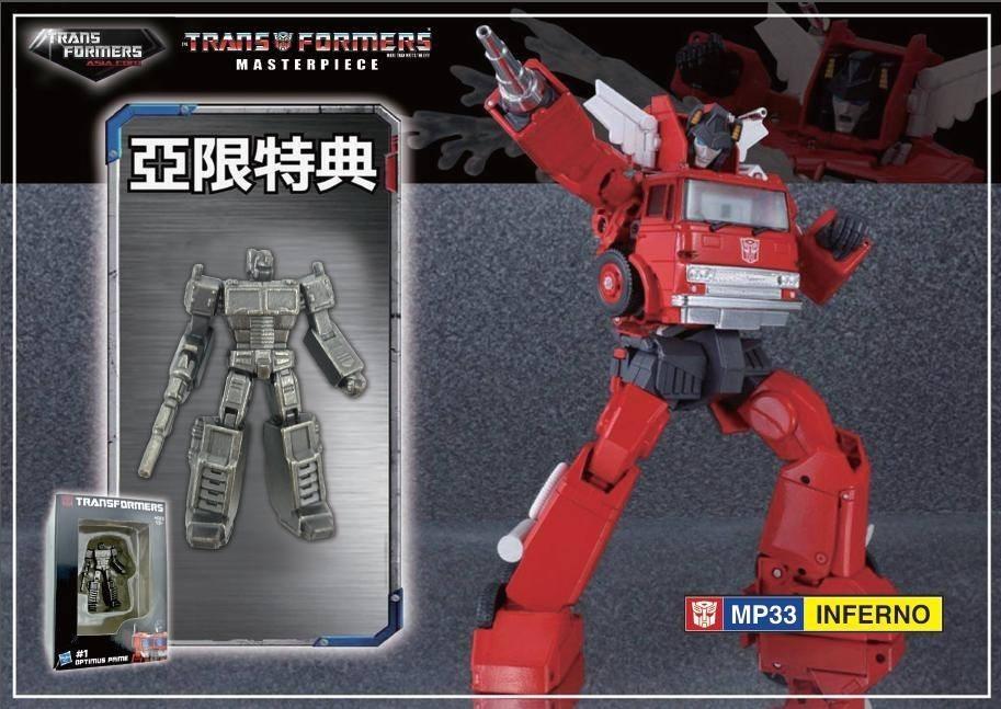BRAND NEW Transformers MP-33 Masterpiece Inferno