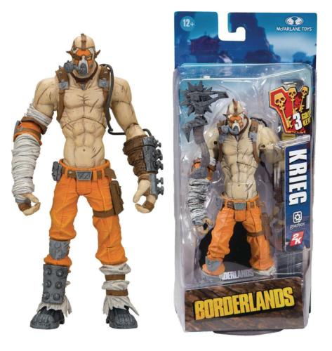 Borderlands 2 Krieg action figure