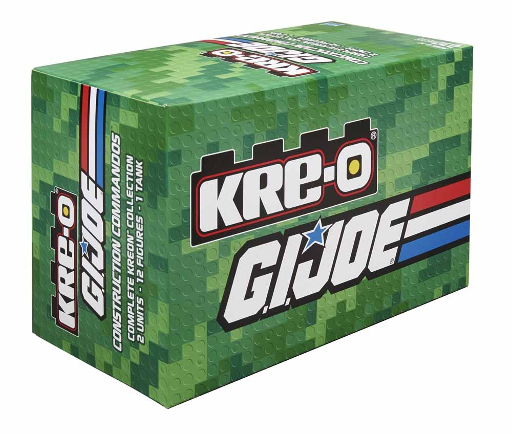 Kre-O SDCC GI Joe VHS 3 Pack