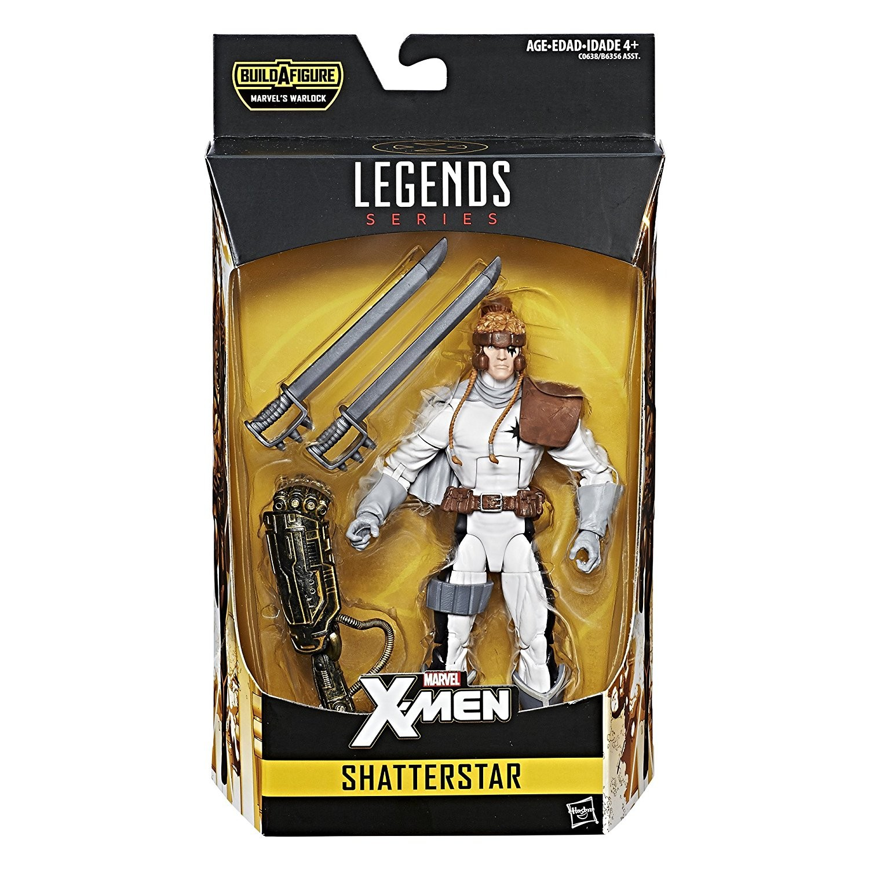 Marvel Legends X-Men Shatterstar Warlock Wave