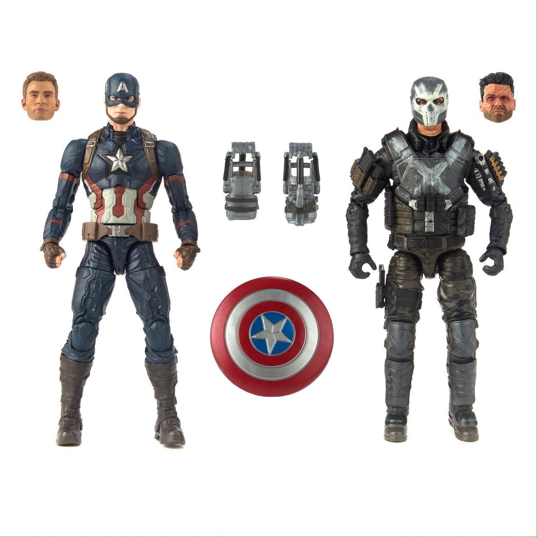 marvel legends cinematic universe captain america vs crossbones 2