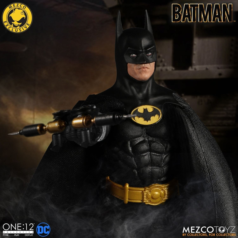 Mezco One 12 Collective Batman 1989 Edition Uk Exclusive Kapow Toys
