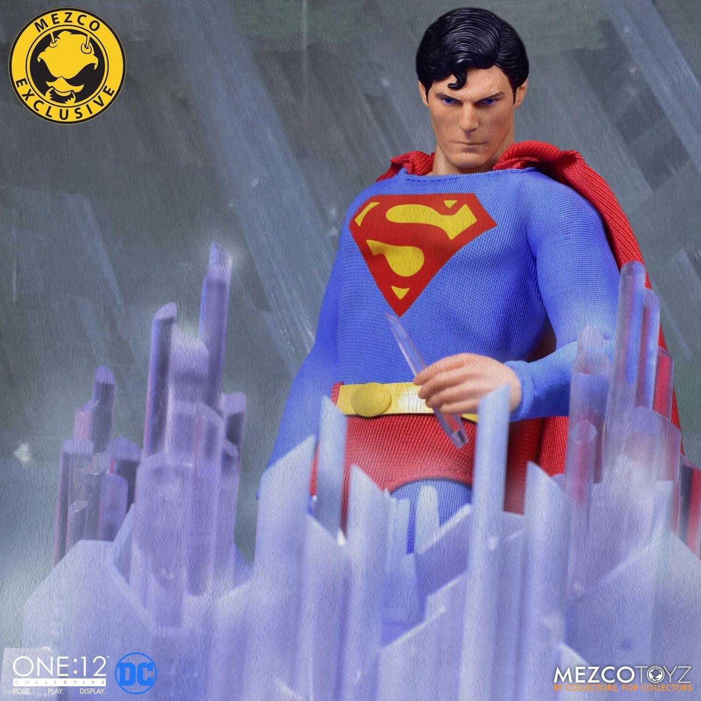 Mezco One 12 Collective Superman 1978 Edition Uk Exclusive Kapow Toys
