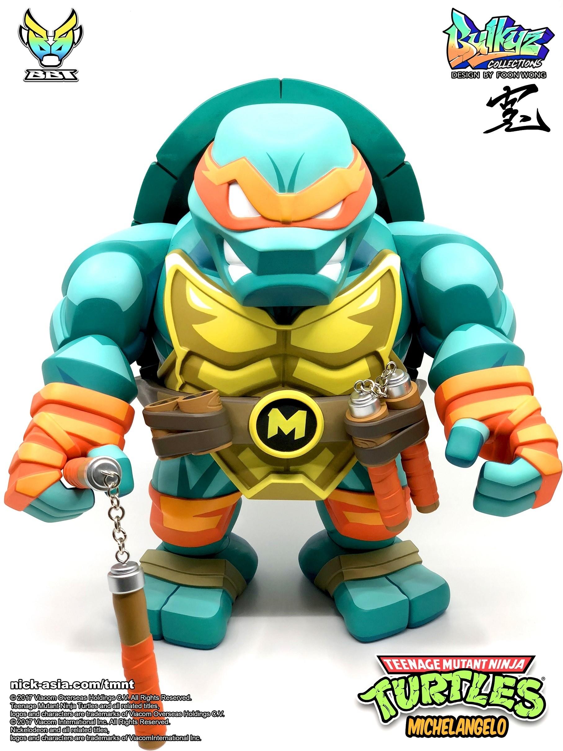 Teenage Mutant Ninja Turtles Bulkyz Collection Michelangelo Kapow Toys
