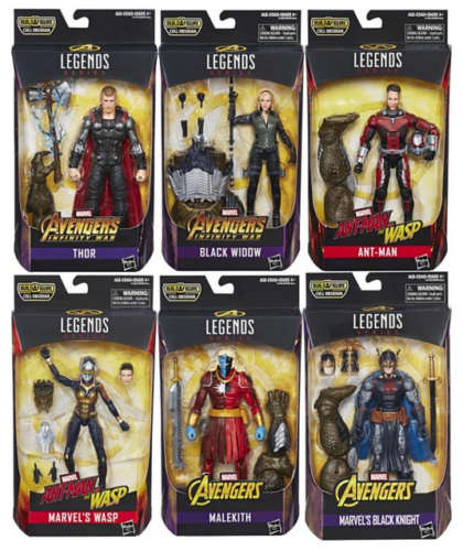 Marvel Legends Avengers End Game Black Widow Infinity War