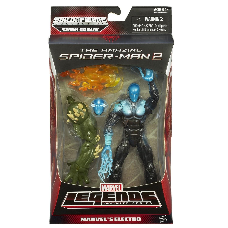 Marvel Legends Amazing Spider-Man 2 Electro
