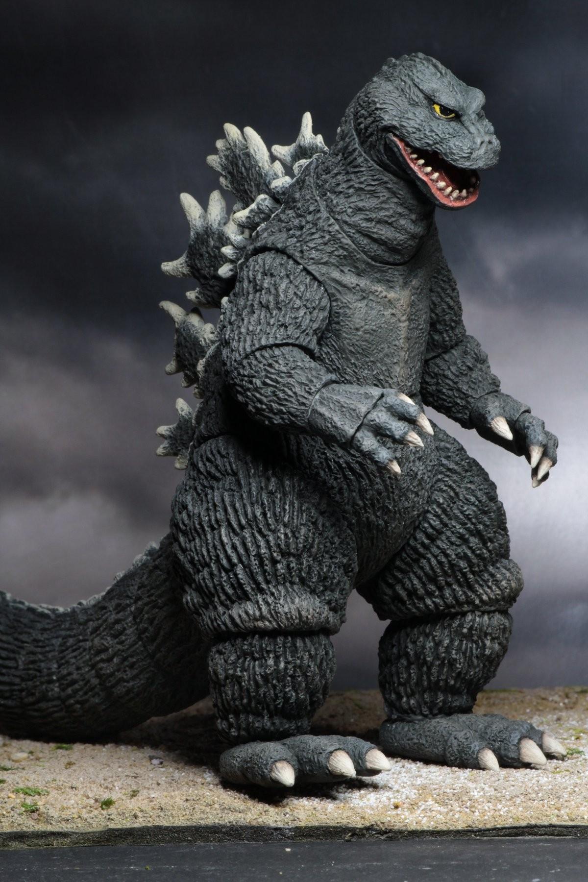 12/″ Head to Tail Action Figure Godzilla King Kong vs. Godzilla 1962 Movie NECA Godzilla