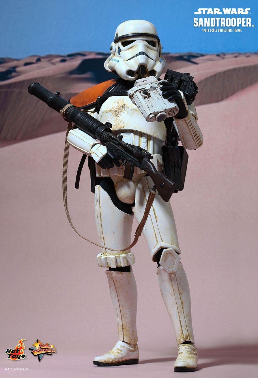 Hot Toys Sandtrooper 1/6th Scale Figure - Kapow Toys