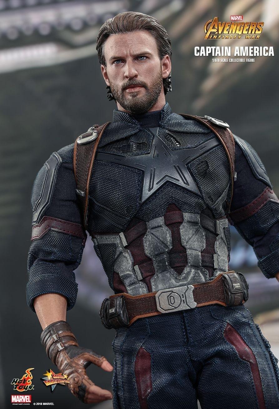 Hot toys avengers infinity war captain america 1 6th scale figure kapow toys - Image captain america ...