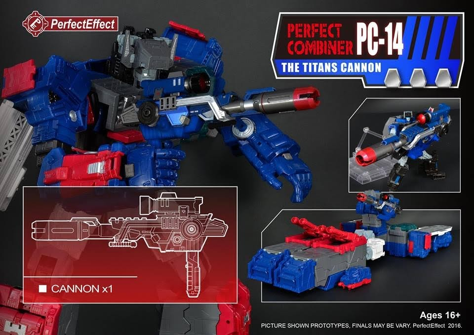 Perfect Effect PC-14 The Titans Cannon