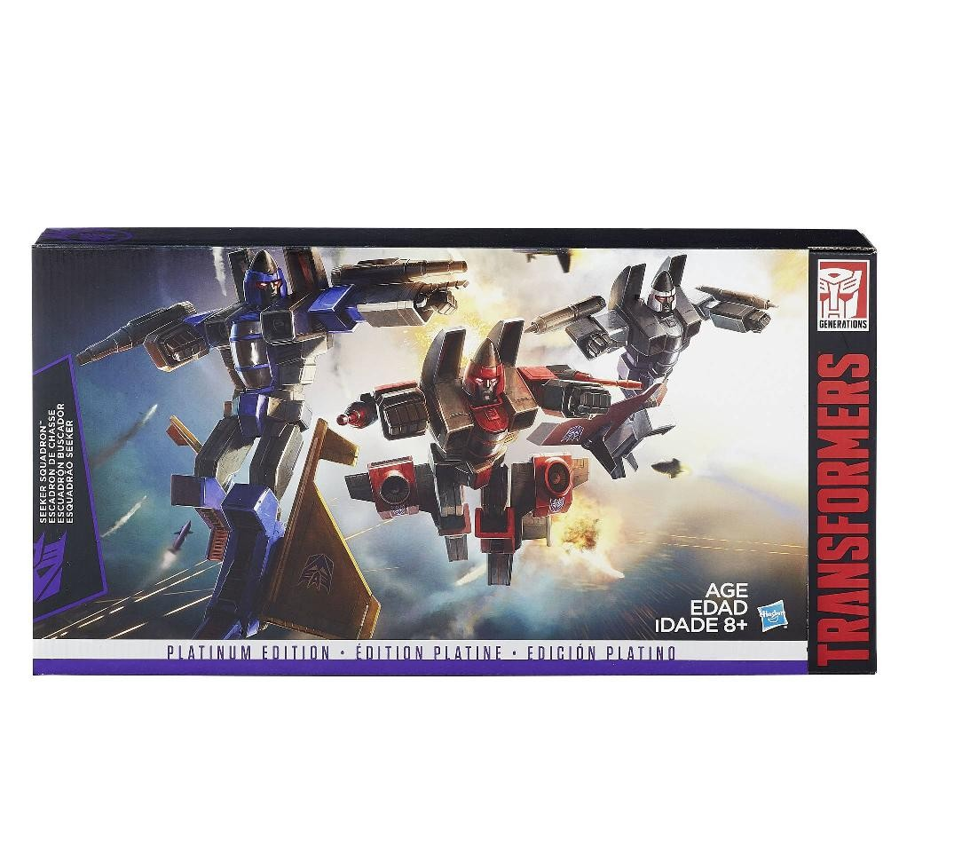 transformers platinum g1 seekers ramjet dirge thrust kapow toys