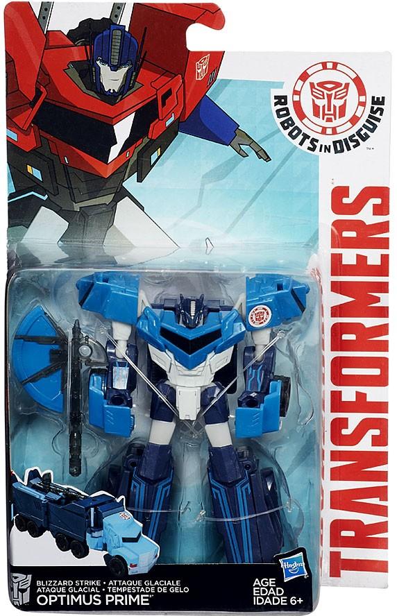 Transformers Robots In Disguise Blizzard Strike Optimus