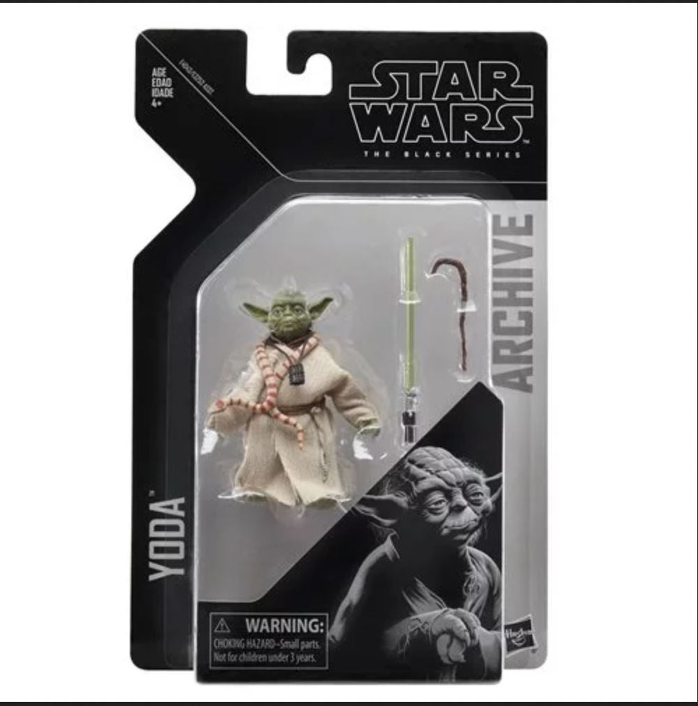 Star Wars Black Series Yoda  Action Figure The Force Awakens Jedi Master Yoda