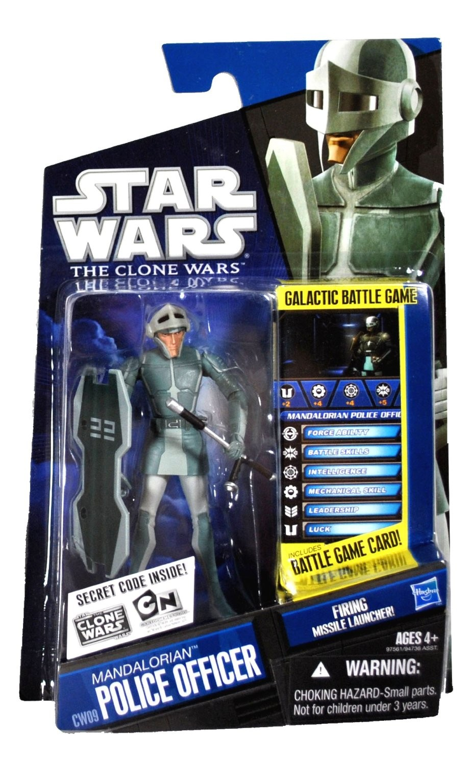 Star Wars The Clone Wars Toys : Star wars the clone mandalorian police officer action