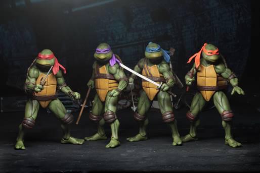 NECA TMNT Movie Turtles Set of 4 ( Teenage Mutant Ninja Turtles ...