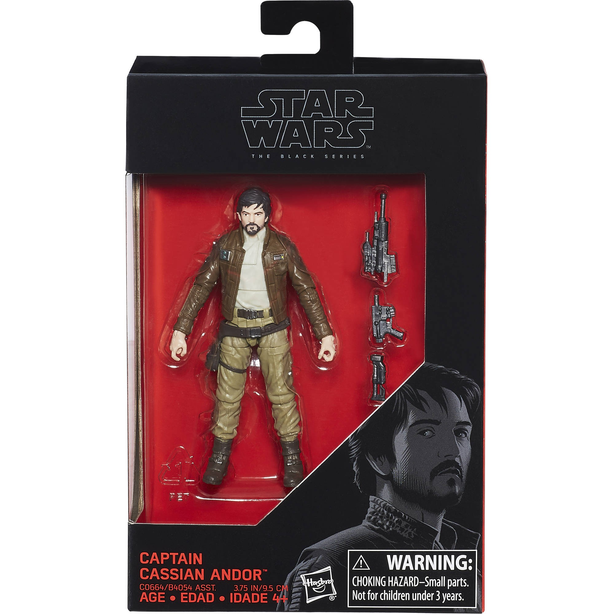 Star Wars Rogue One 12 pouces capitaine Cassien Andor