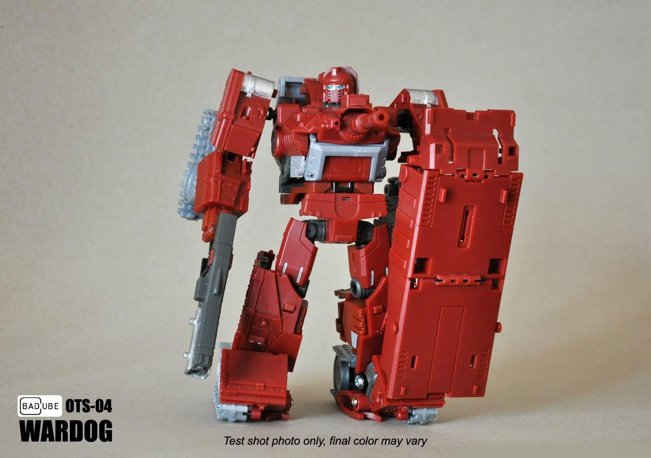 Badcube OTS-04 Warrior Wardog