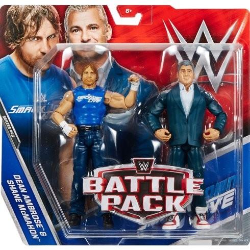 WWE Series 46 Battle Pack Shane McMahon & Dean Ambrose
