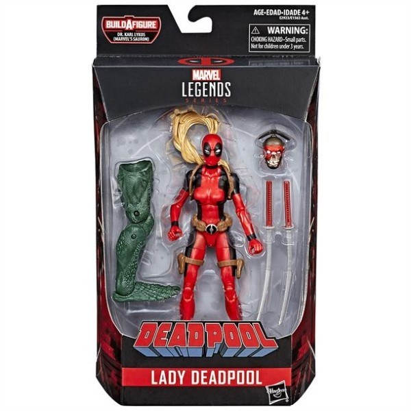 Deadpool Lady Deadpool Action Figure Diamond Select Toys Free Shipping!