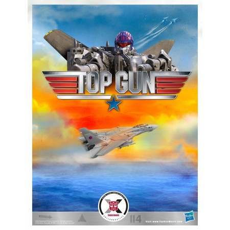 Transformers X Top Gun Maverick Crossover Action Figure