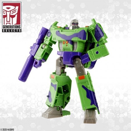 transformers generations selects G2 megatron