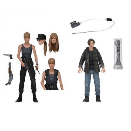 NECA Terminator 2 Sarah Connor & John Connor Action Figure 2 Pack