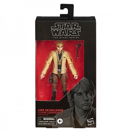 Star Wars Black Series Luke Skywalker Yavin Ceremony