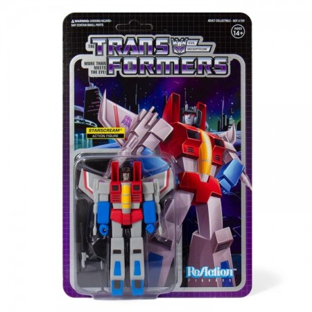 Transformers ReAction Starscream Action Figure