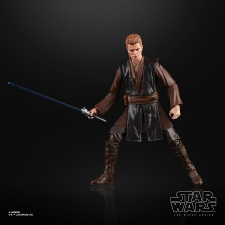 Figura de acción de Star Wars Black Series Anakin Skywalker Attack Of The Clones