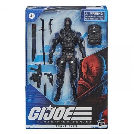 Figura de acción de G.I. Joe Classified Snake Eyes